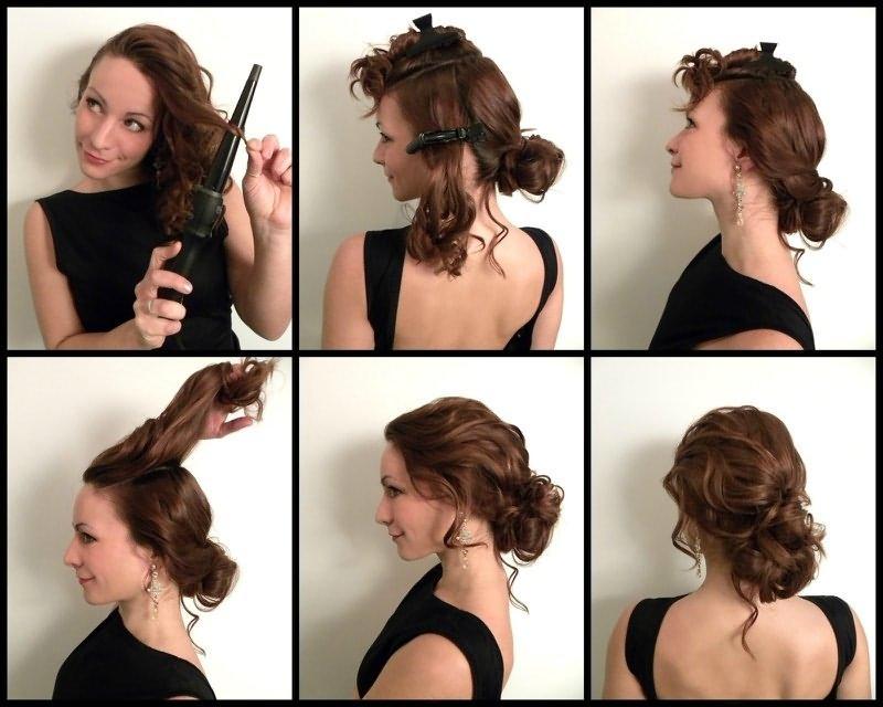 Видео как сделать прически на короткие волосы своими руками