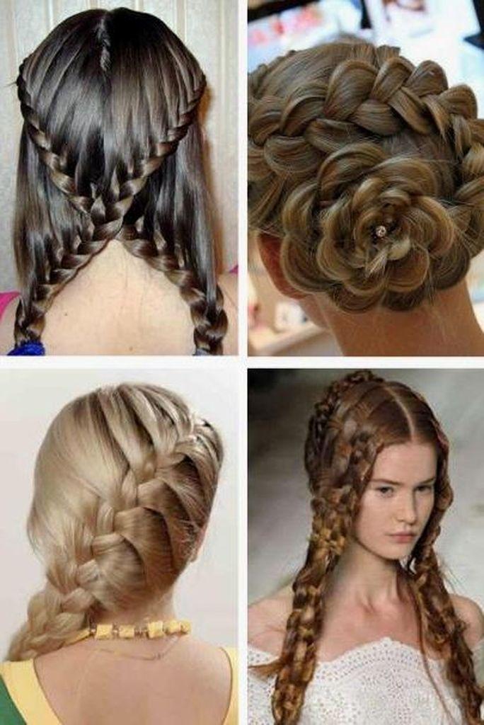 Причёски на длинные волосы на каждый день для подростков