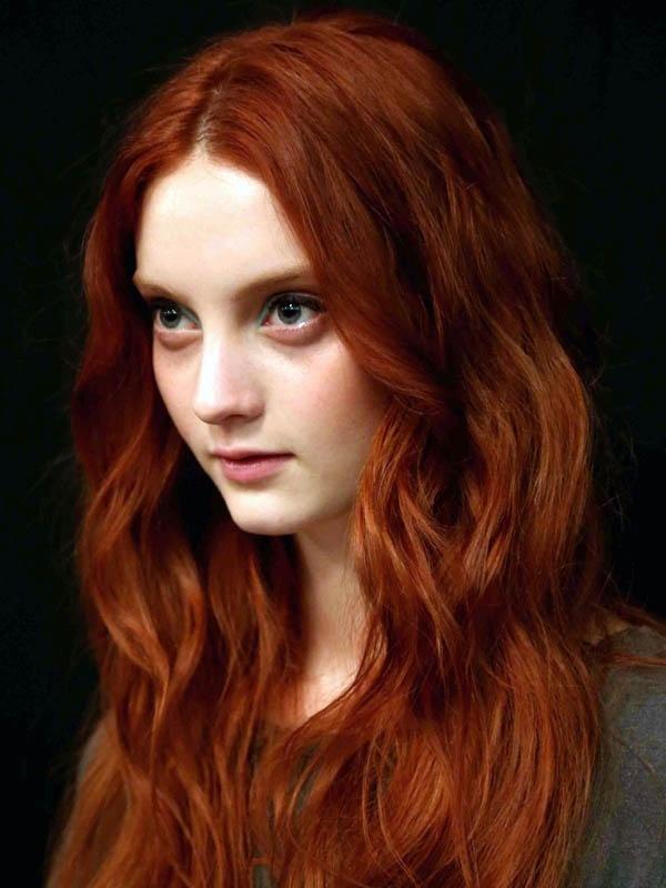 Как рыжий цвет волос перекрасить в русый цвет