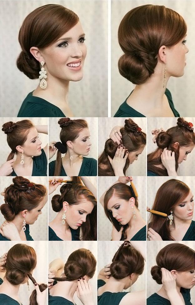 Модный цвет волос для брюнеток фото
