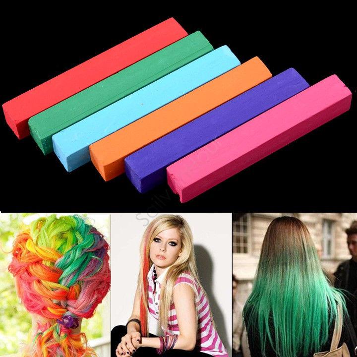 Временная окраска волос