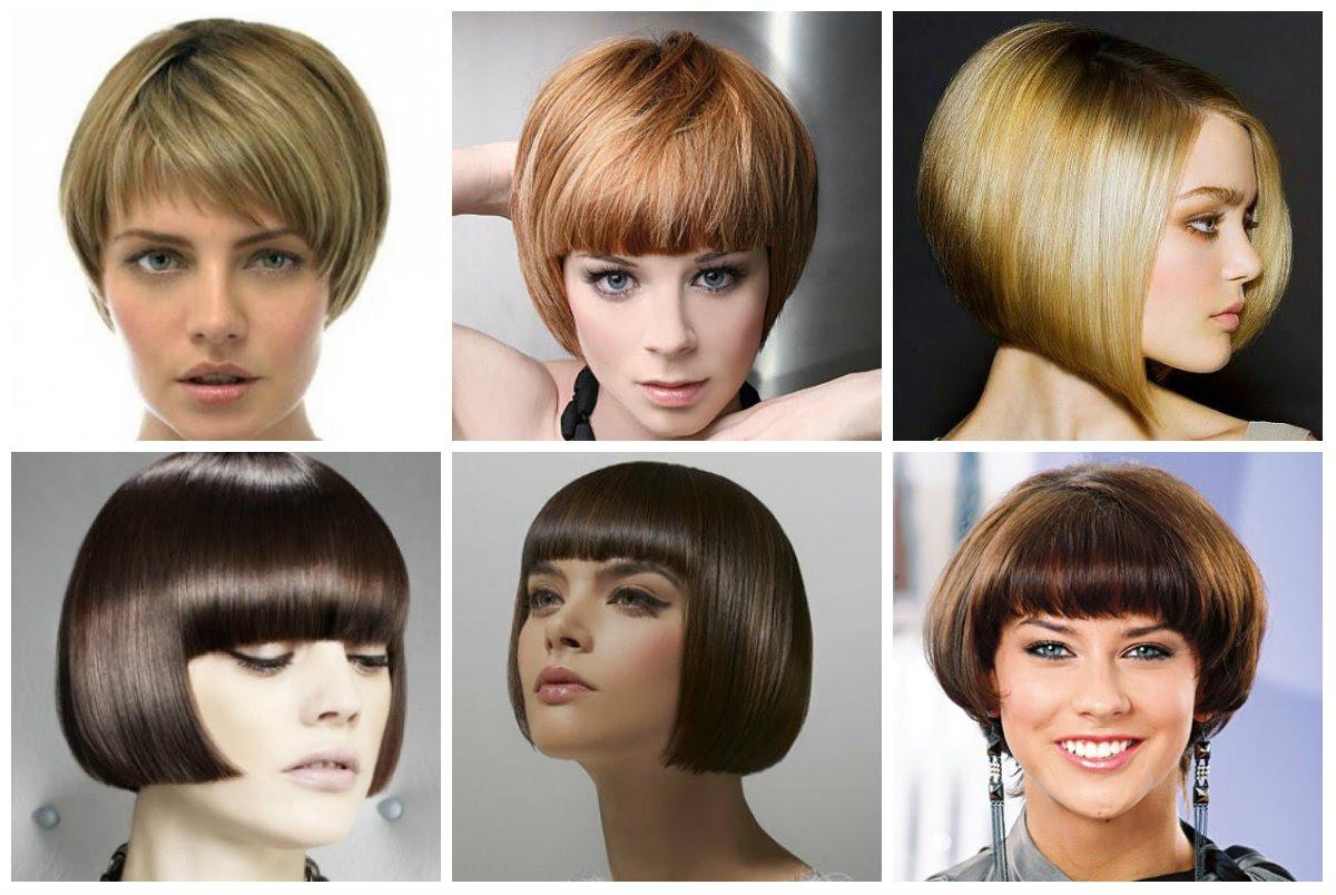 завивка на среднюю длину волос фото