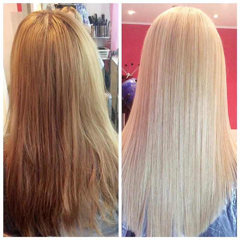 Кератиновое выпрямление волос или ботокс