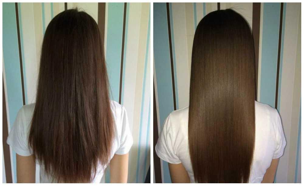 Длинные волосы ровные кончики