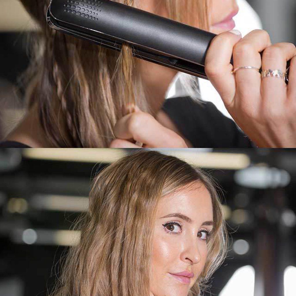 Причёски на длинные волосы утюжком фото