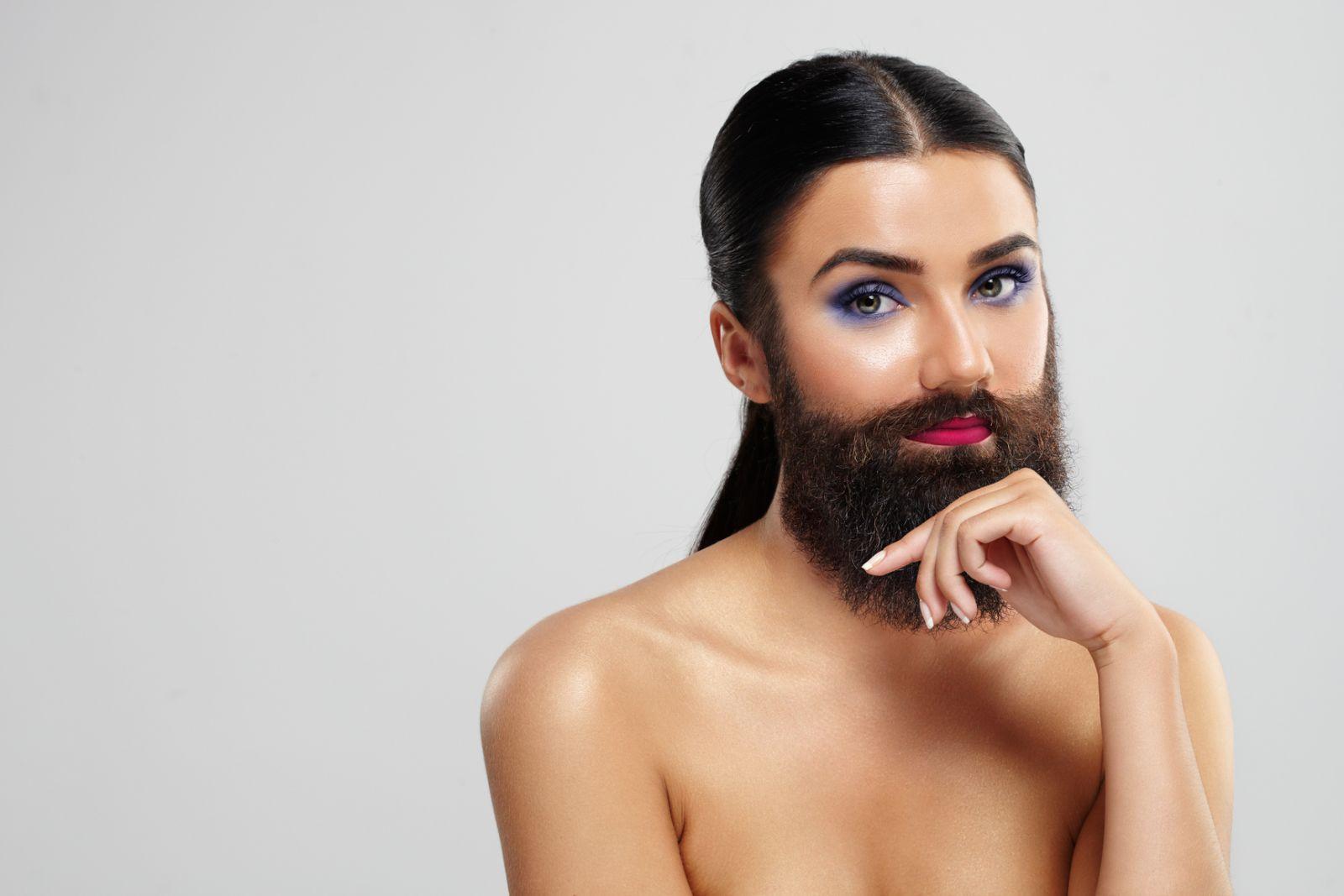 Как удалить усы и волосы на лице
