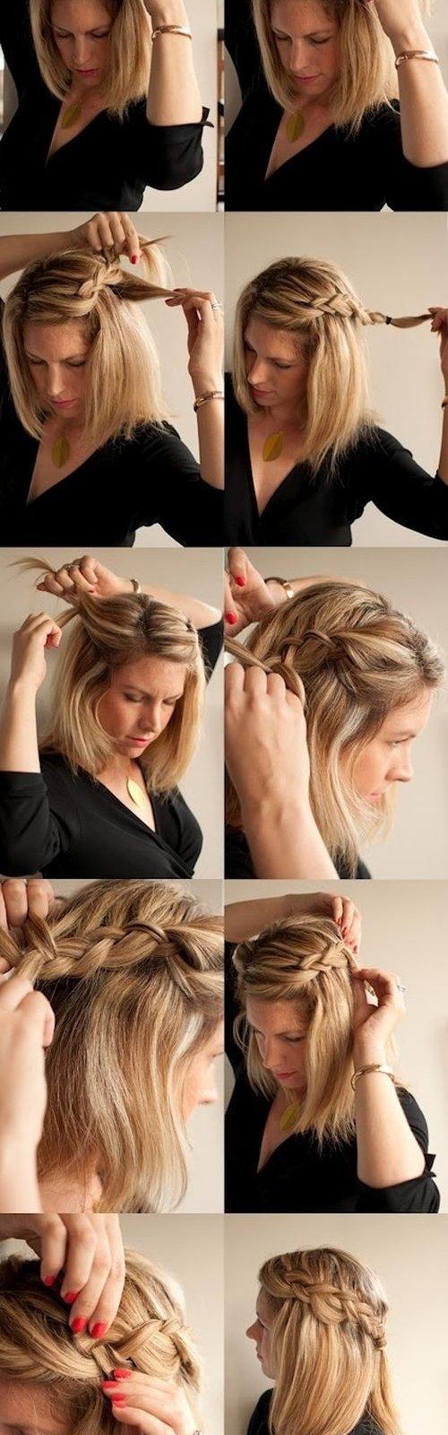 Какую прическу сделать на каре волосы