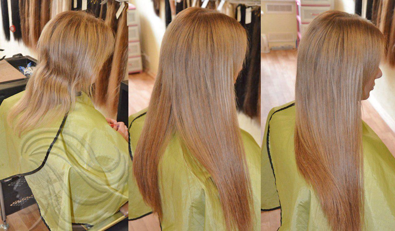 Технология холодного и горячего наращивание волос, их плюсы и минусы