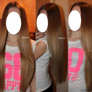 Пилинг волос