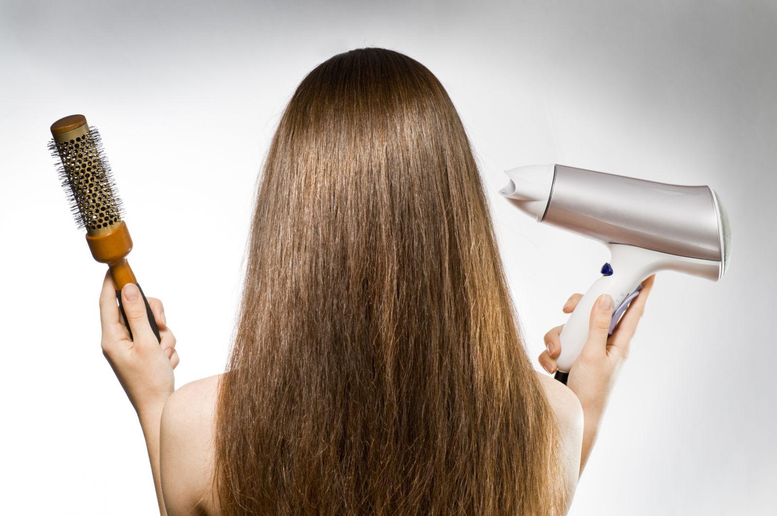 Как сделать укладку волос без фена