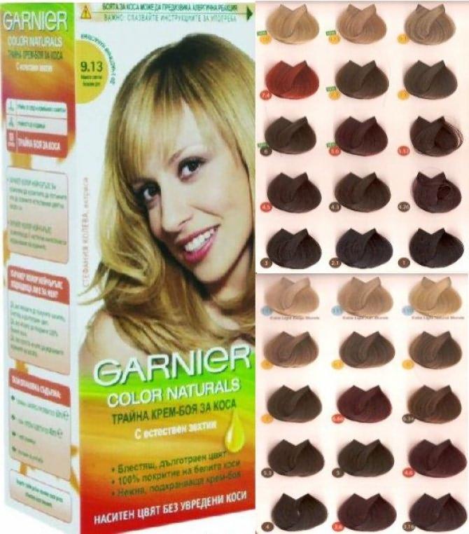 Гарньер краски для волос