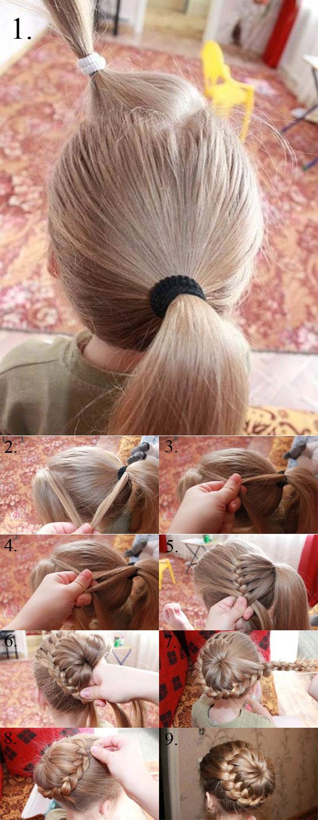 Подростковые стрижки для девочек пошагово