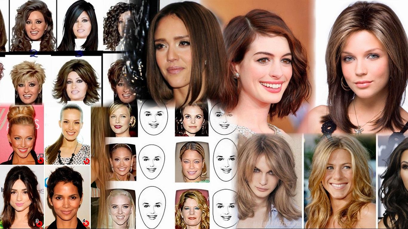Виды причесок женских для вытянутого лица фото