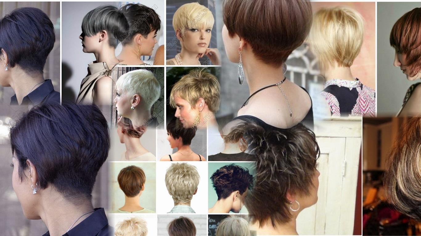 Короткие стрижки и прически из коротких волос