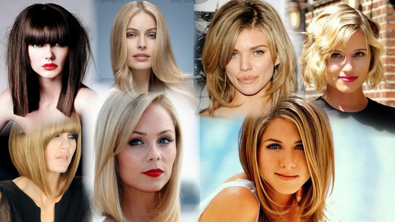 Причёски на средние волосы молодежные женские