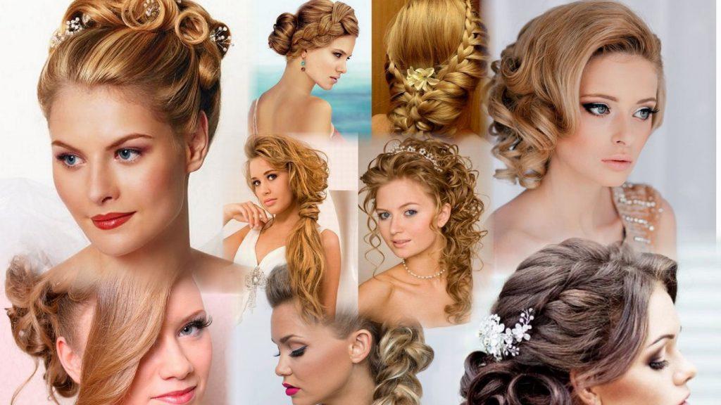 Прически на волосы фото