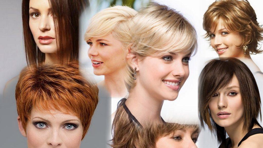 Средние стрижки женские фото