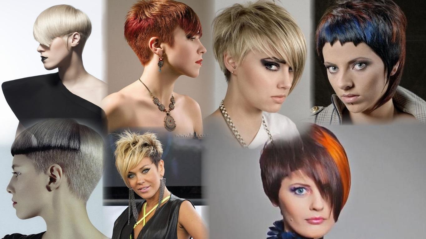 Новые причёски женские фото