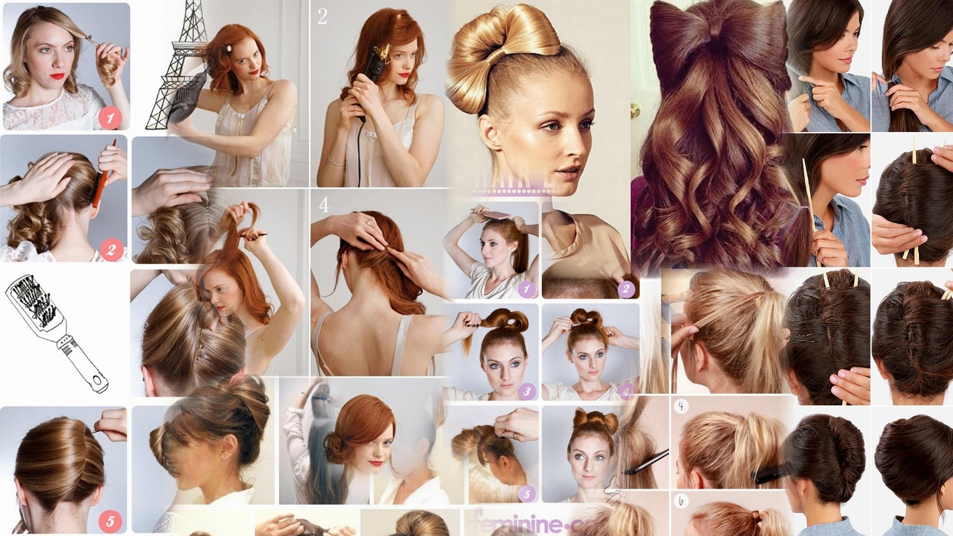 Гофра для волос прически фото