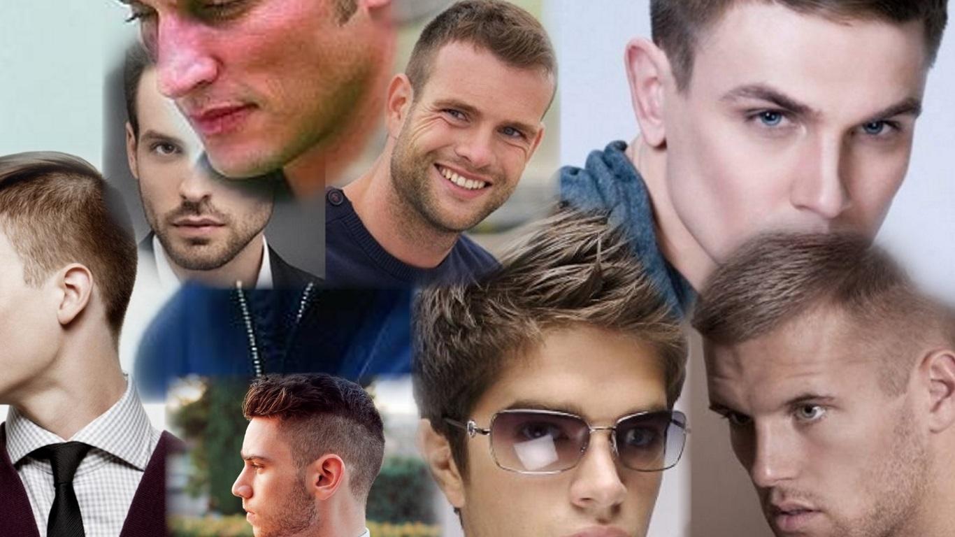 Разные виды причесок мужских фото