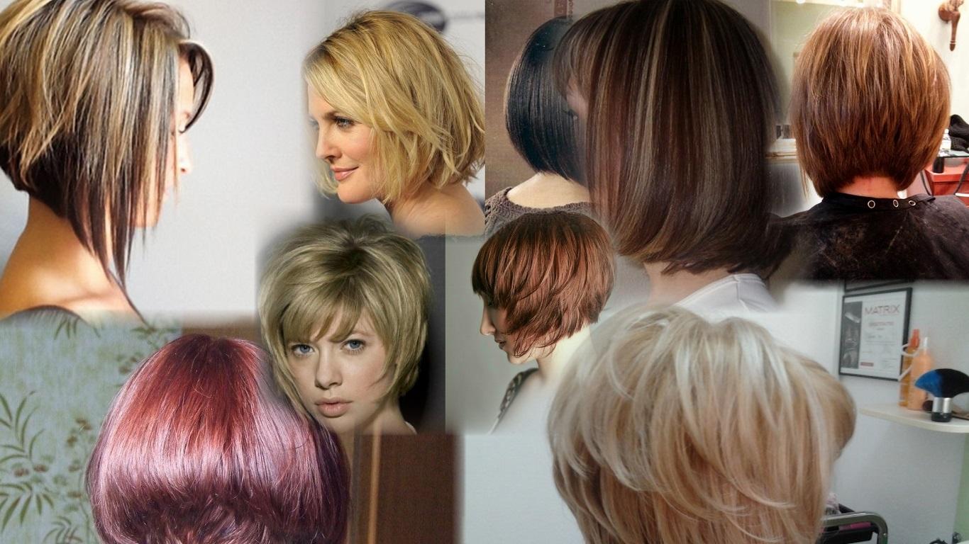 Как самой себе подстричь волосы - боб и каре фото стрижек 6