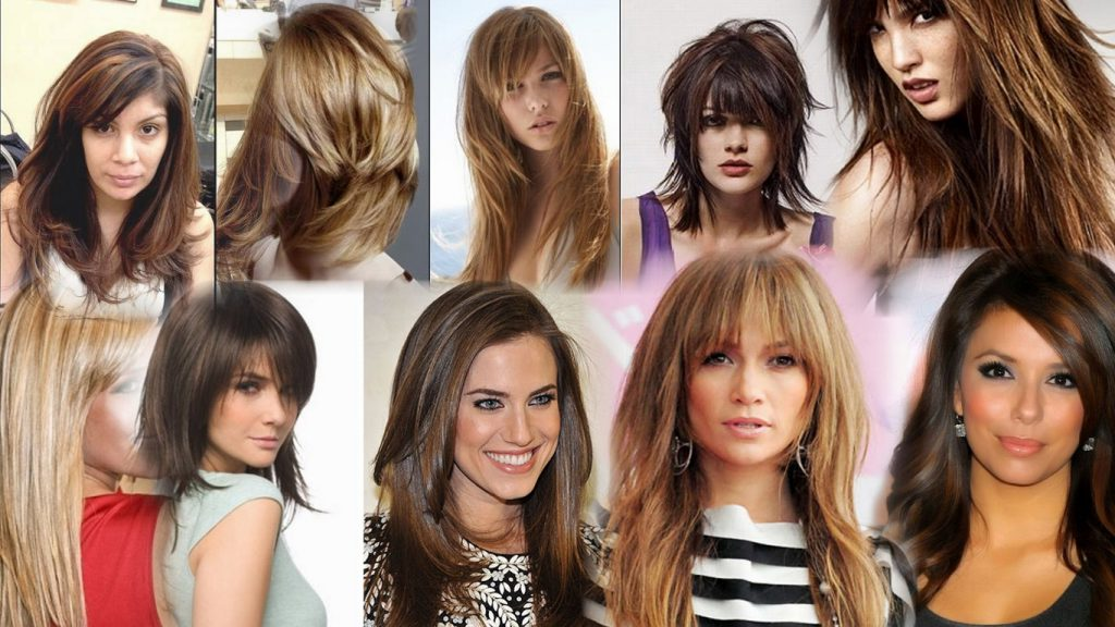 Градуированные стрижки на длинные волосы фото
