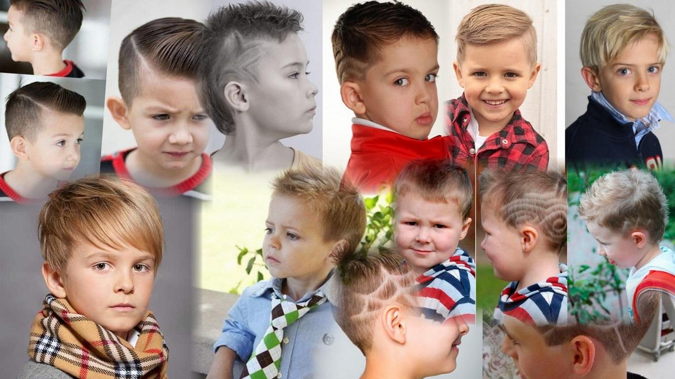 Детские прически для мальчиков 2015 фото и видео