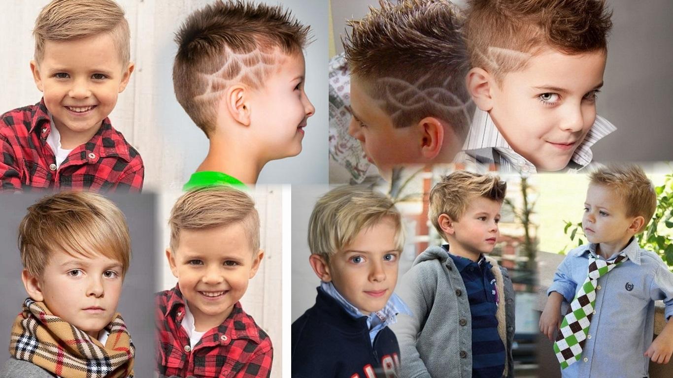 Детские стрижки мальчики модные