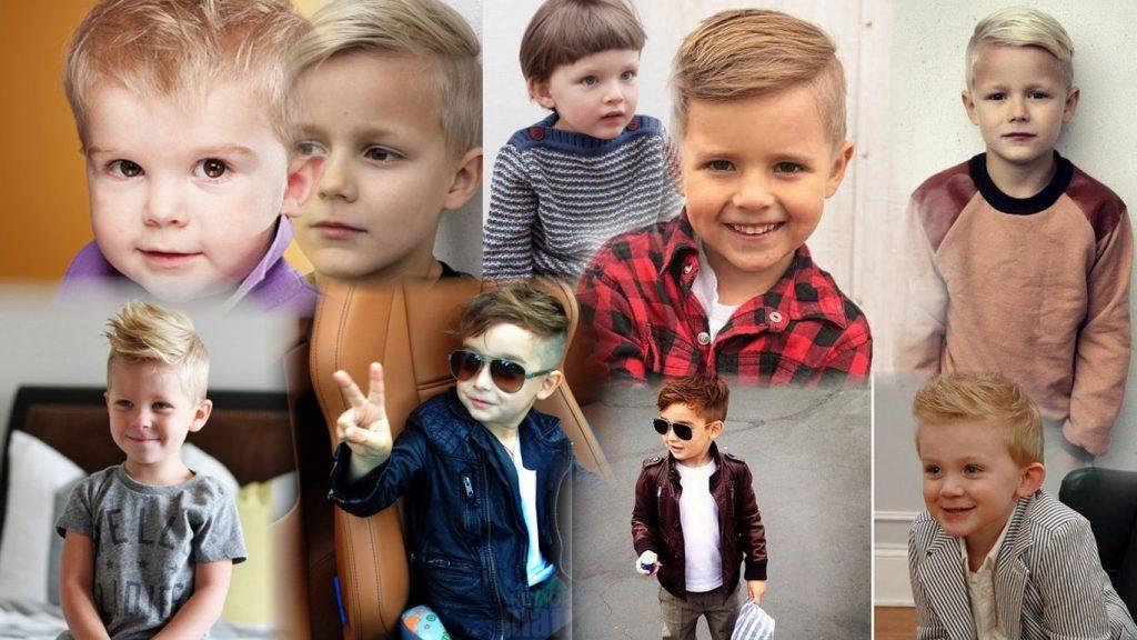 Детские стрижки для мальчика фото современные