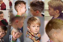 Детские стрижки для мальчиков фото