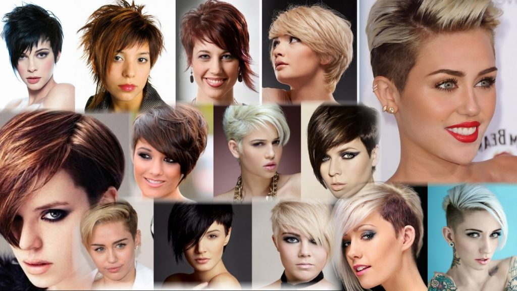 Женские стрижки асимметрия на короткие волосы фото
