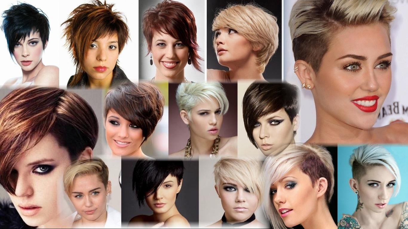 Женская стрижка асимметрия на короткие волосы