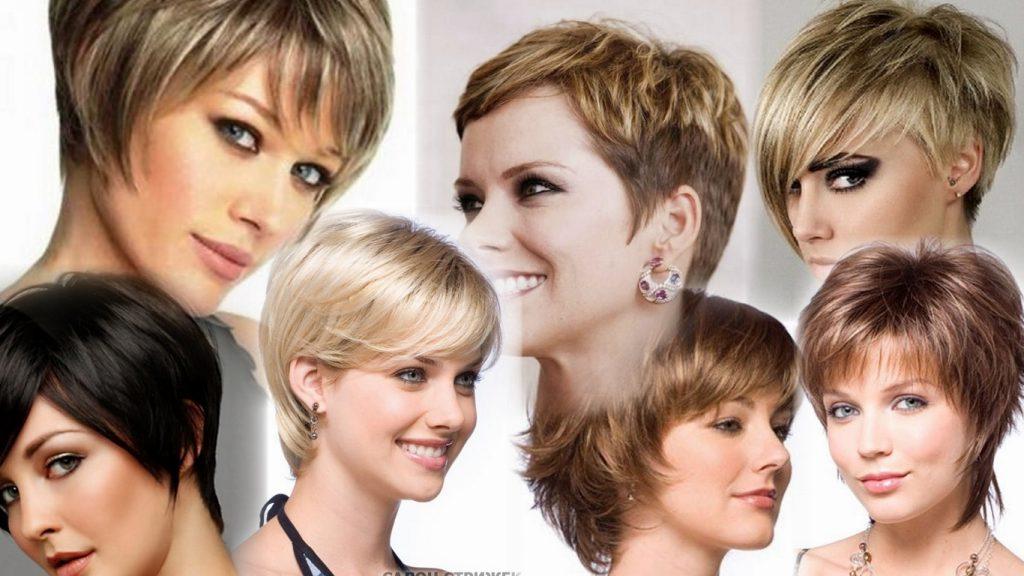 Женские стрижки для коротких волос фото