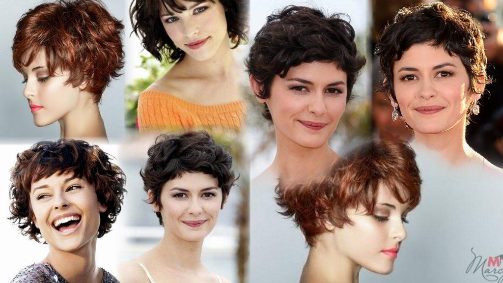 Короткие стрижки на волнистые волосы фото
