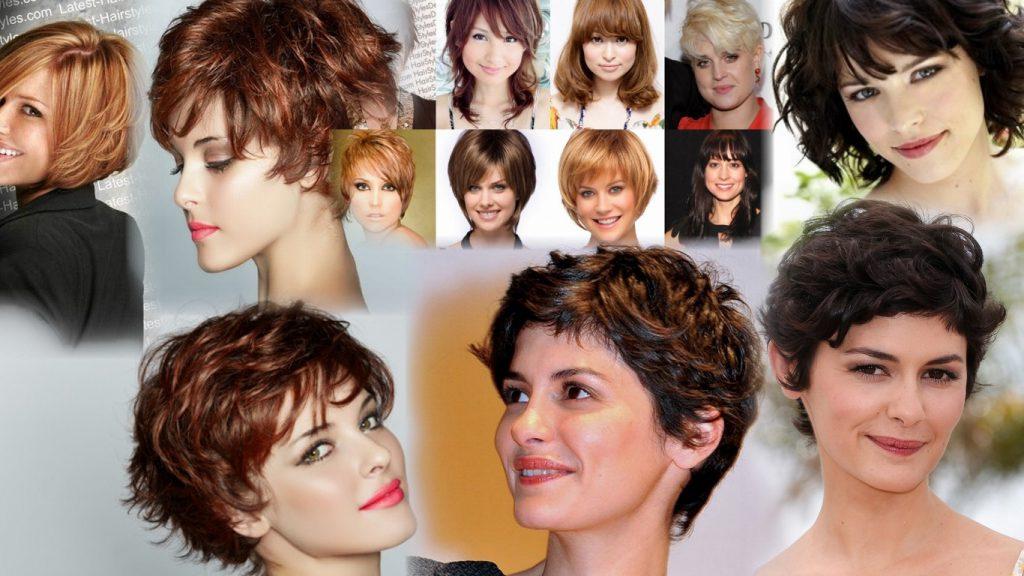 Короткие стрижки на густые вьющиеся волосы фото