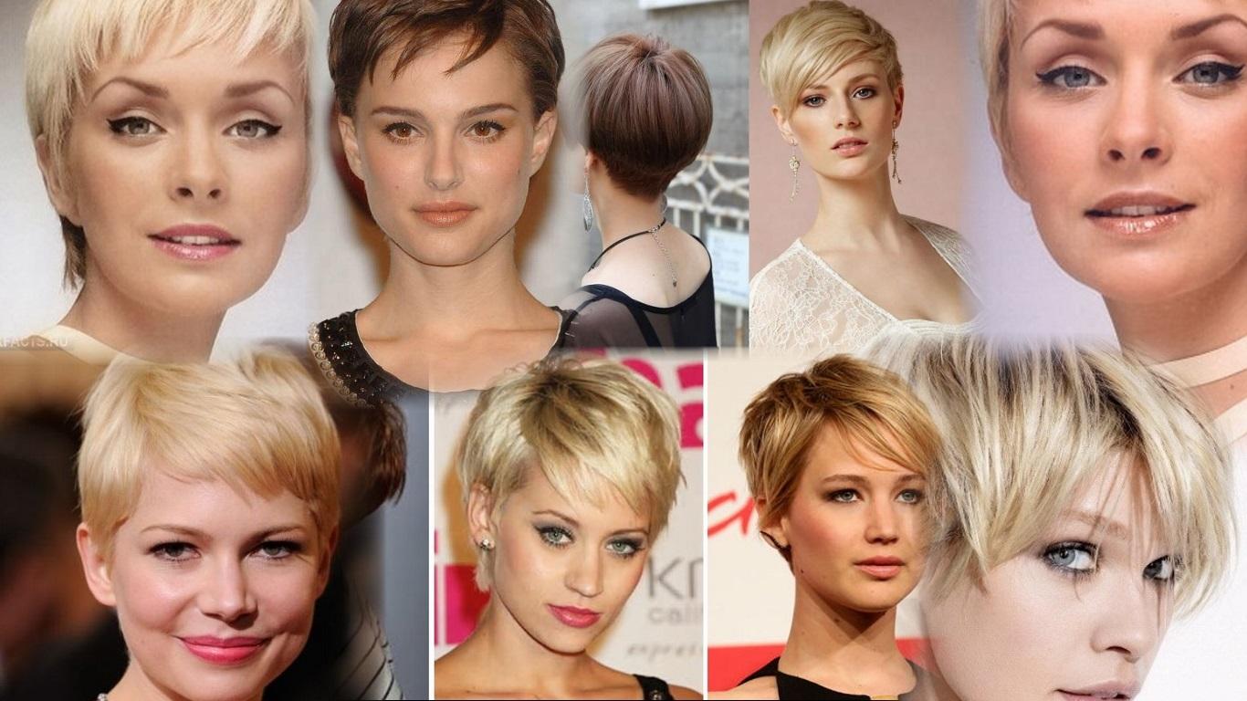 Прически и стрижки для коротких волос редких