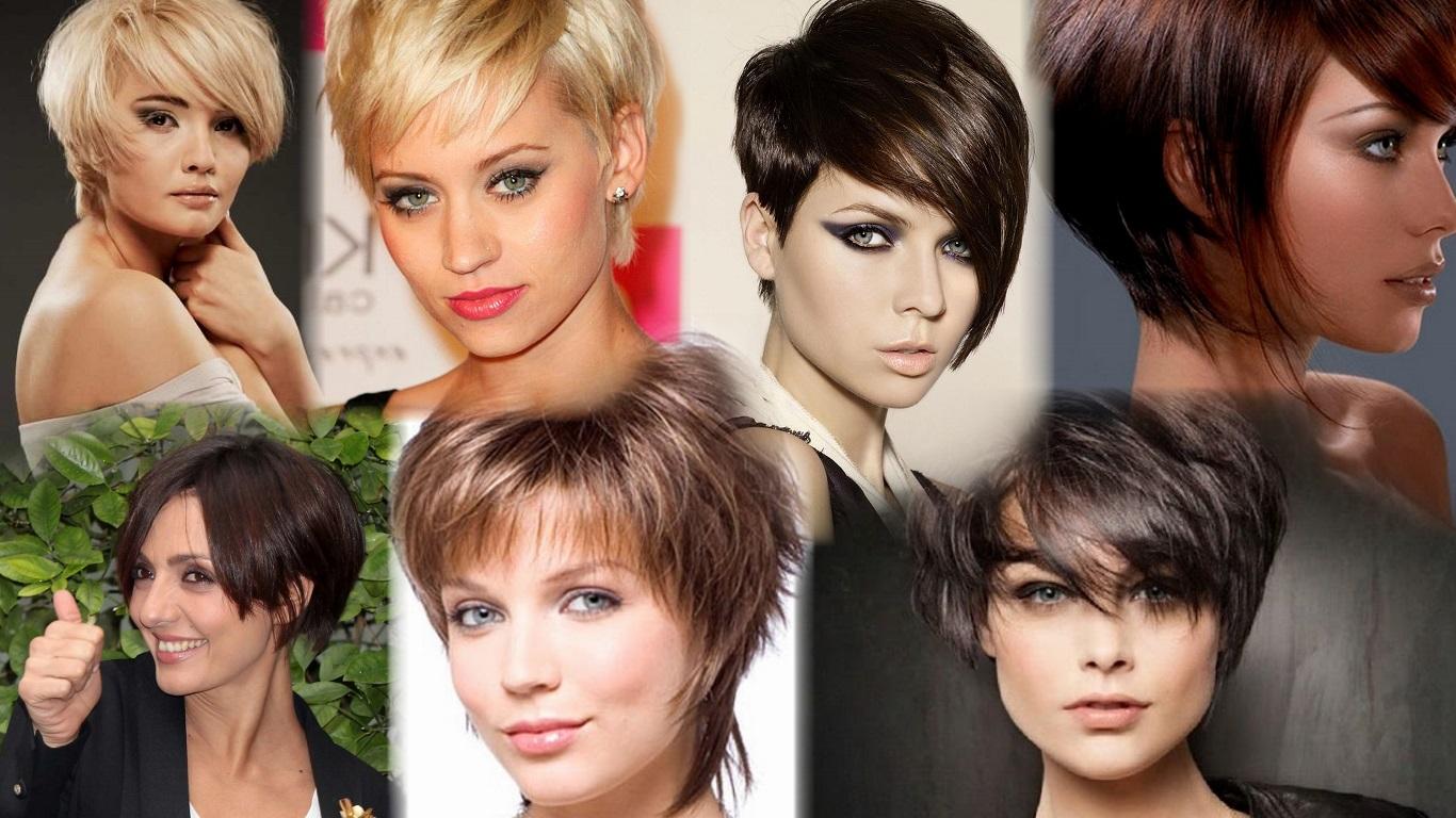 Какая стрижка в моде в 2018 году фото на короткие волосы