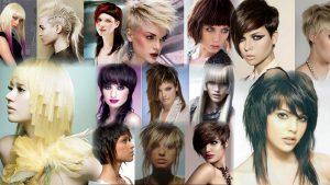 Креативные прически на средние волосы фото