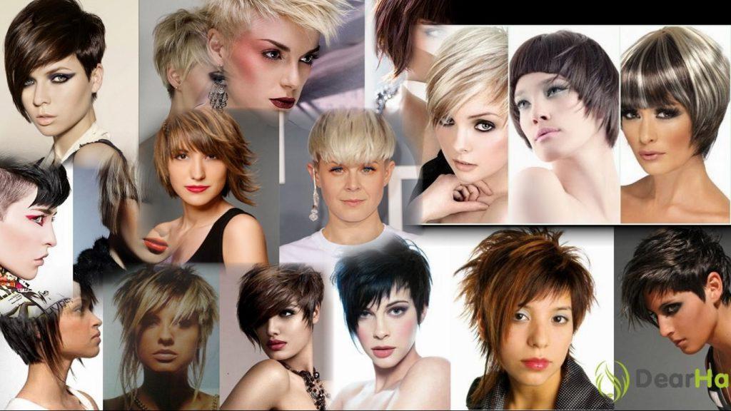 Креативные стрижки на короткие волосы фото