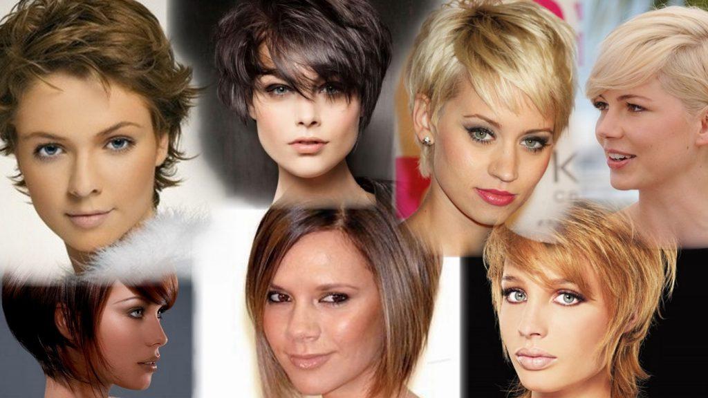 Модели стрижек на короткие волосы фото