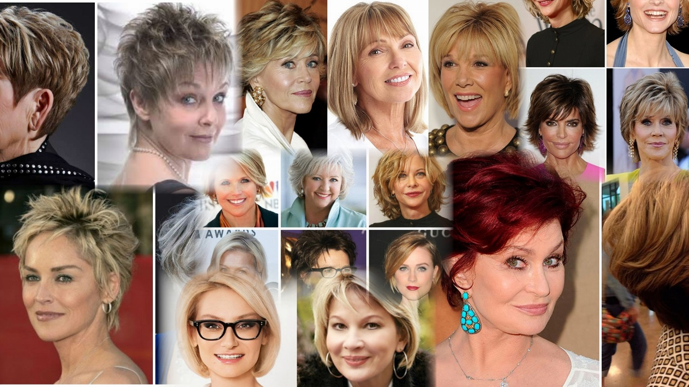 Прически для женщин 40-50 лет 74