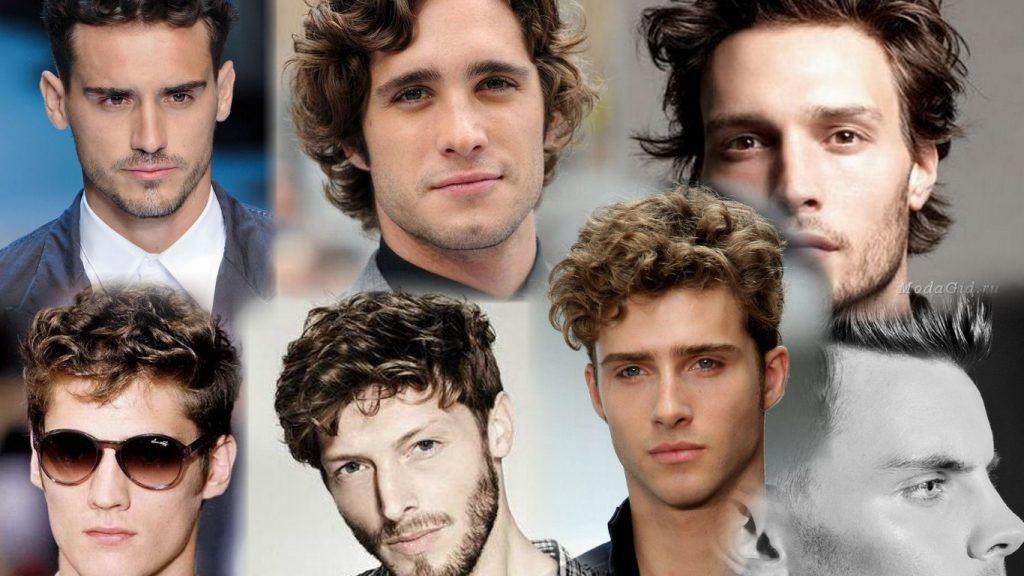 Мужские стрижки на волнистые волосы фото