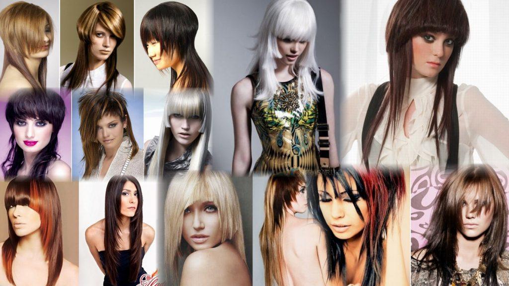 Необычные стрижки на длинные волосы фото