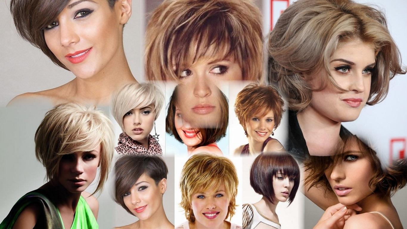 Объемные стрижки на короткие волосы фото