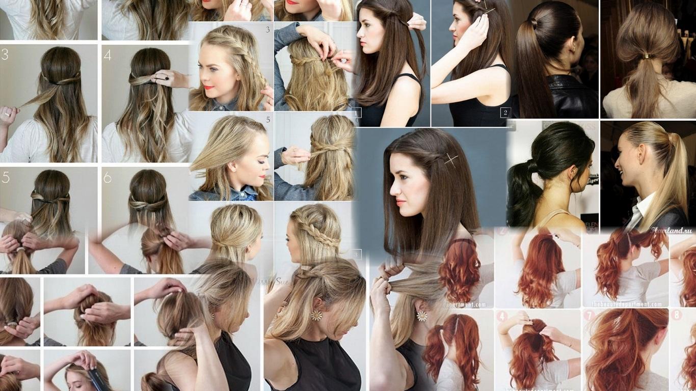 Прически на длинные волосы своими руками на каждый 97