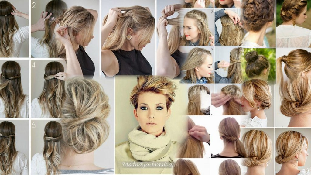 Повседневные стрижки на средние волосы фото