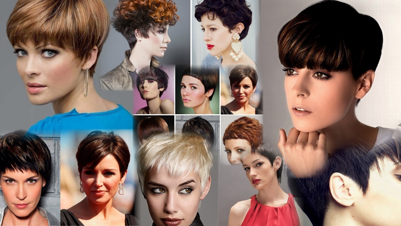 Причёски гарсон на короткие волосы фото