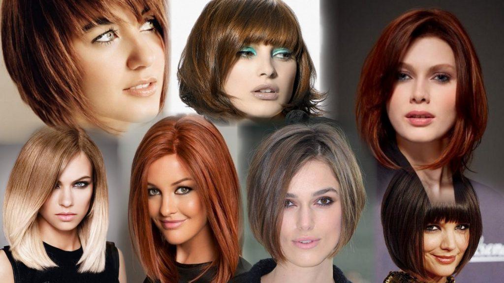 Прическа каре фото на средние волосы
