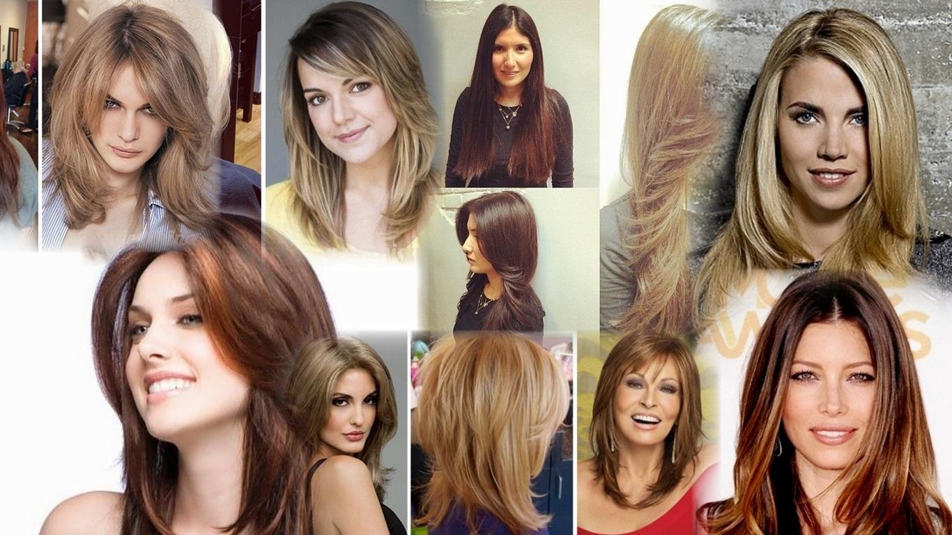 Каскадные прически на длинные волосы фото