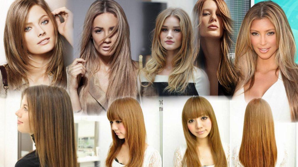 Прическа лесенка на длинные волосы фото